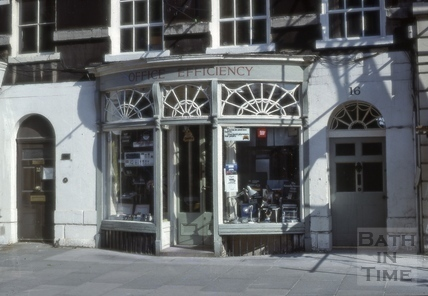 Office Efficiency, 16, Argyle Street, Bath 1979
