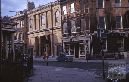 Argyle Street from Laura Place, Bath 1964