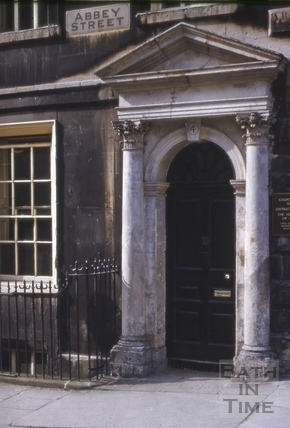 4, Abbey Street, Bath 1969