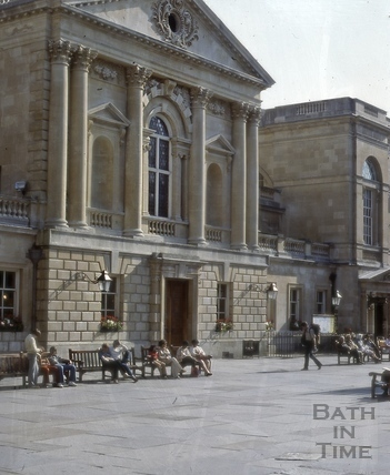 Concert Hall, Abbey Church Yard, Bath 1979