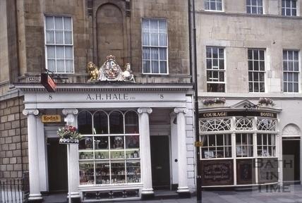 8 & 9, Argyle Street, Bath 1979