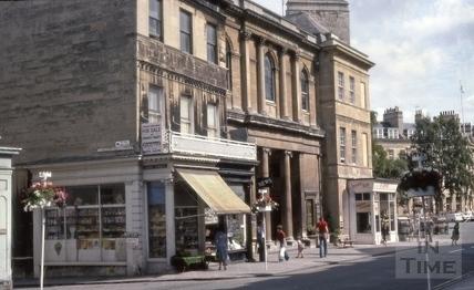 Argyle Street, Bath 1979