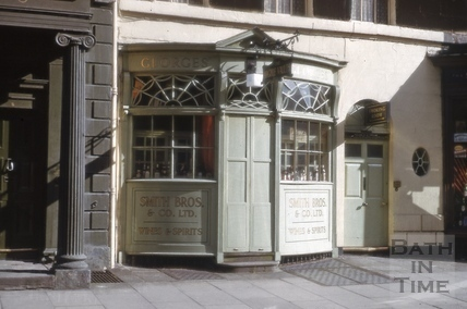 The Argyle Wine Vaults, 9, Argyle Street, Bath c.1979