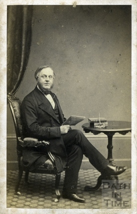 John Stone, Town Clerk, Bath c.1870