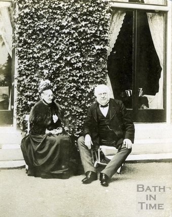John Stone, Bath Town Clerk and his second wife Mme. Beeke