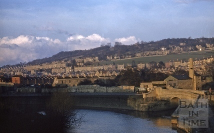 River Avon, Bath 1956