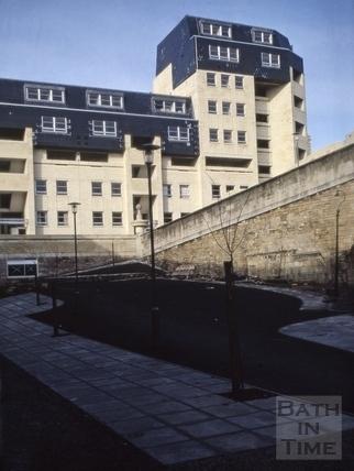 Ballance Street flats, Bath 1972