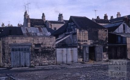 Back Street, Bath c.1963