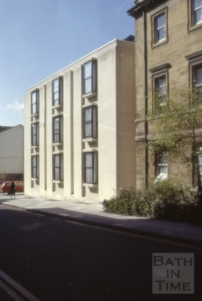 Barton Street, Bath 1981