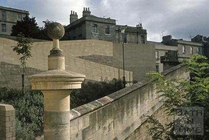 Ballance Street flats, Bath 1973