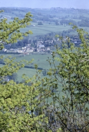 Distant view of Bathford 1968