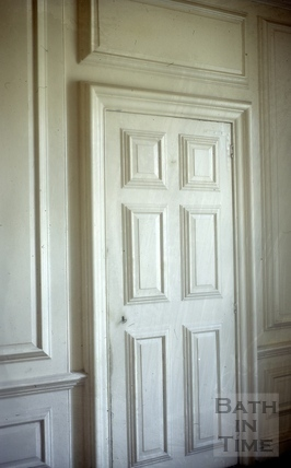 Door panelling, Batheaston House, Batheaston 1965