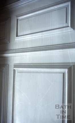 Detail of panelling, Batheaston House, Batheaston 1965