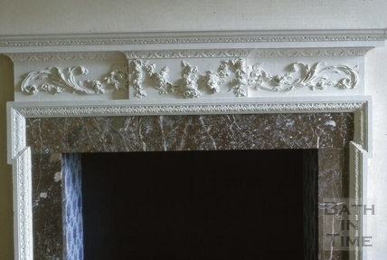 Dining room mantelpiece, Titan Barrow, Bathford 1964
