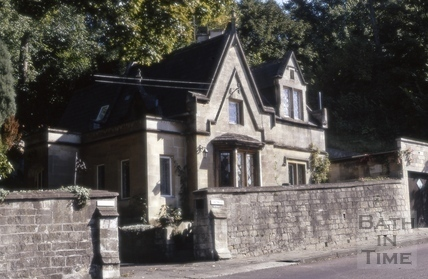 Priory Lodge, Bathwick Hill, Bath 1972