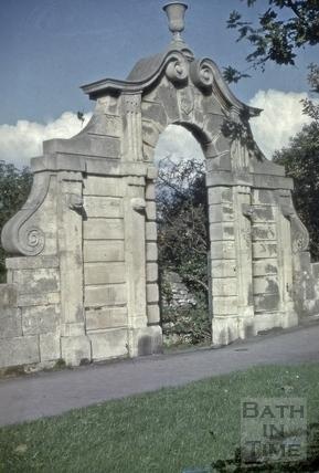 Pinch's Folly, Bathwick Street, Bath 1954