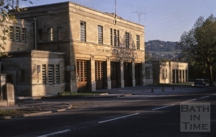 Fire and Ambulance Stations, Bathwick Street, Bath 1969