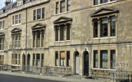 2 to 5, Bathwick Street, Bath 1962