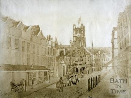High Street, Bath 1755