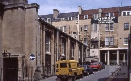 Beau Street Baths, Bilbury Lane, Bath 1983