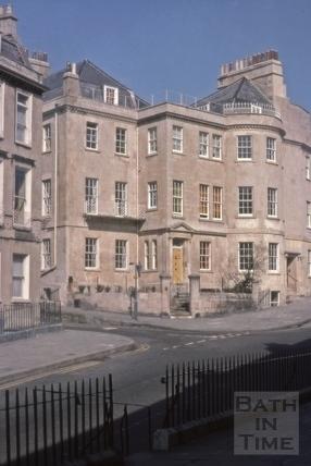 Old Eye Infirmary, 1, Belvedere, Bath 1976