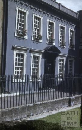 5, Beauford Square, Bath 1954