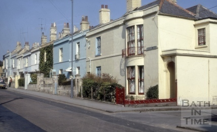 Beaufort Place, Bath 1973