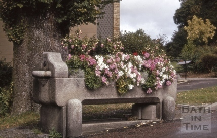 Horse trough, Beckford Road, Bath 1970