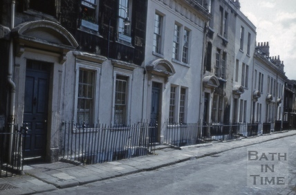 North side, Beauford Square, Bath 1967