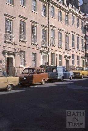 20 to 22, Bennett Street, Bath 1976