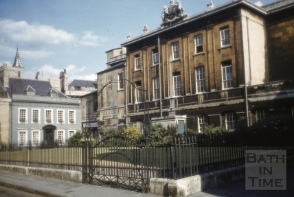 Theatre Royal from Beauford Square, Bath 1960