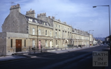 Elm Place, Bloomfield Road, Bath 1967