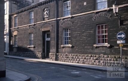 Bellott's Almshouses, Beau Street, Bath 1979