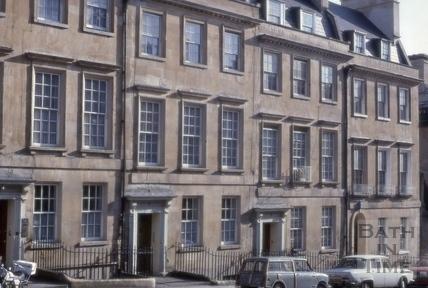 3 to 6, Bennett Street, Bath 1976
