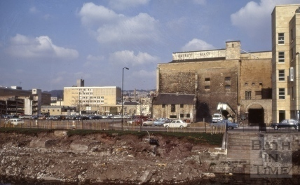 Baird's Maltings, Broad Quay, Bath 1973