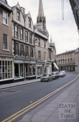 38 to 40, Broad Street, Bath 1969