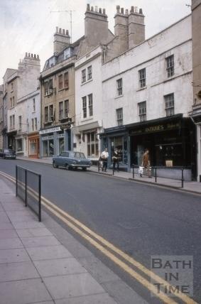 24 to 31, Broad Street, Bath 1969