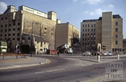Broad Quay car park, Bath 1973