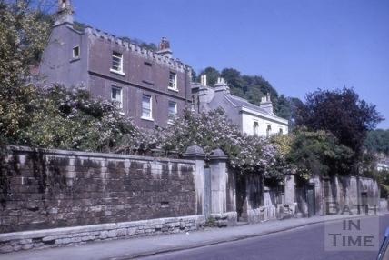 Ivythorn Villa, 2 & Mural Lodge, 3, Prospect Place, Camden Road, Bath 1964