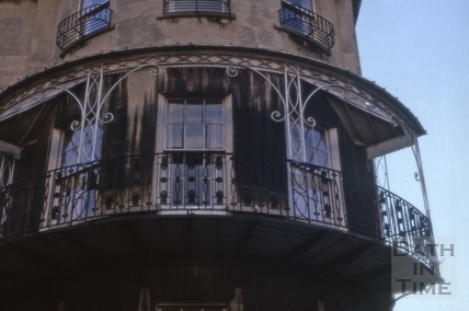 Balcony, 1, Camden Crescent, Bath 1965