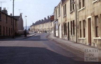 Brook Road, East Twerton, Bath 1965