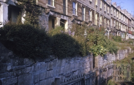 Upper Trafalgar Place, Calton Road, Bath 1964