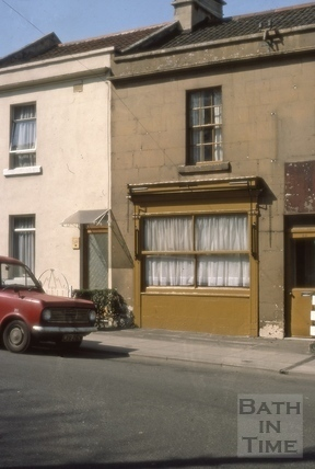 38 & 39, Brougham Hayes (Twerton Hayes Buildings), East Twerton, Bath 1976