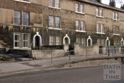 16 to 20, Caroline Buildings, Widcombe, Bath 1970