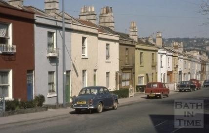 Brougham Hayes (Twerton Hayes Buildings), East Twerton, Bath 1976