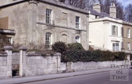 Claremont Place, Camden Road, Bath 1964