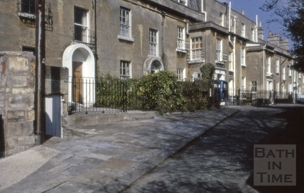 Cambridge Terrace, Widcombe, Bath 1973