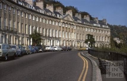 Camden Crescent, Bath 1961