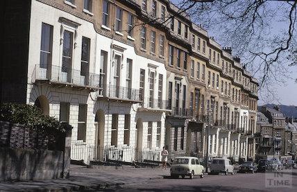 Cavendish Place, Bath 1970