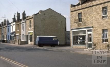 Brougham Hayes, East Twerton, Bath 1976